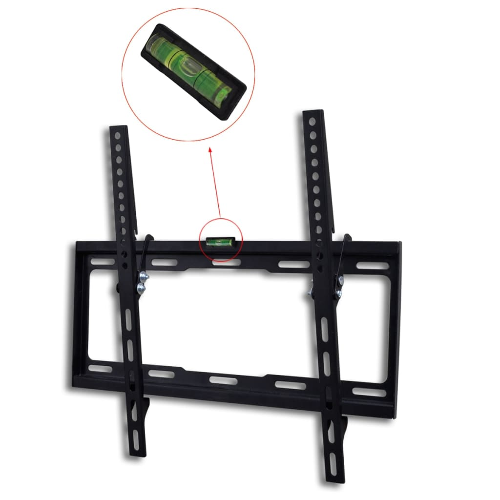 """Support TV mural inclinable 400 x 400 mm 23 """"- 55"""""""