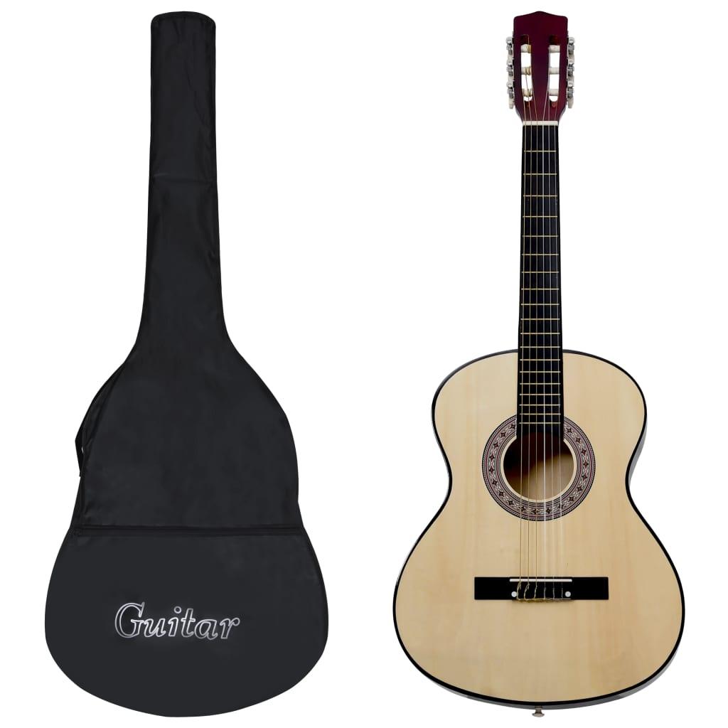 """Guitare classique pour débutant avec sac 3/4 36 """""""