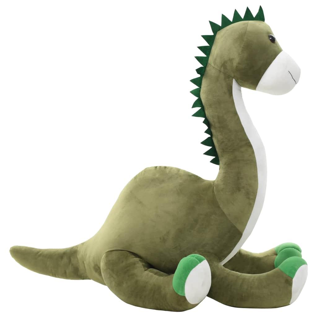 Dinosaur Brontsaurus Cuddly Toy Plush Green