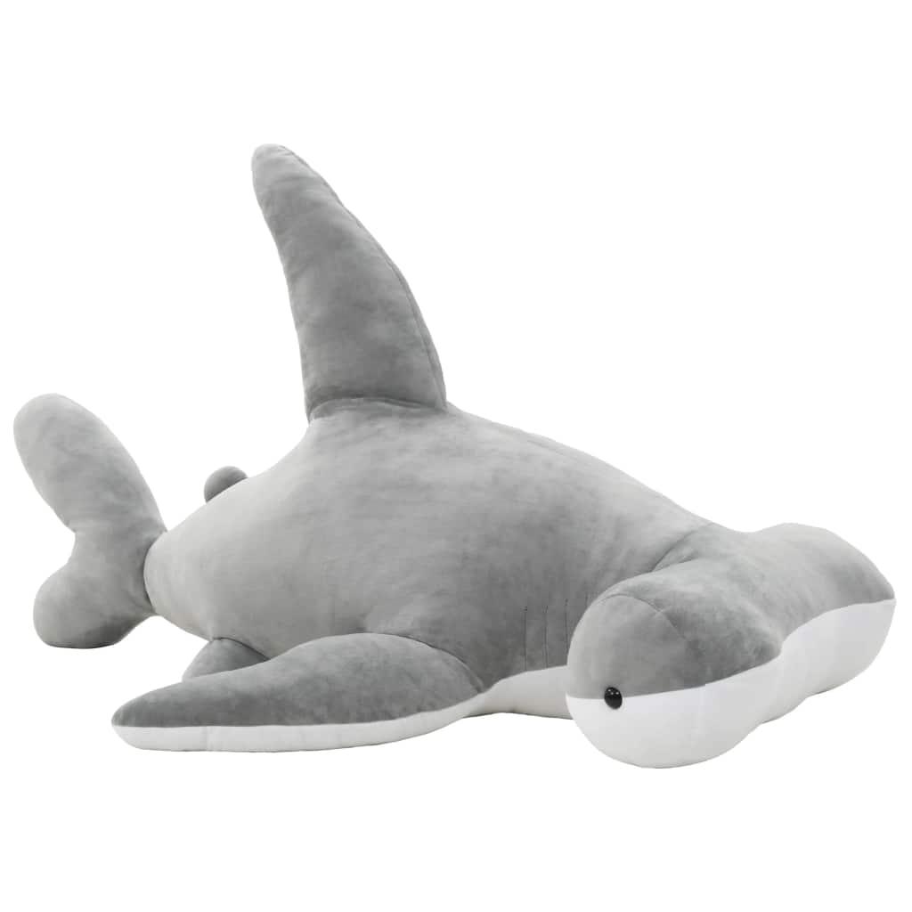 Peluche requin marteau en peluche gris