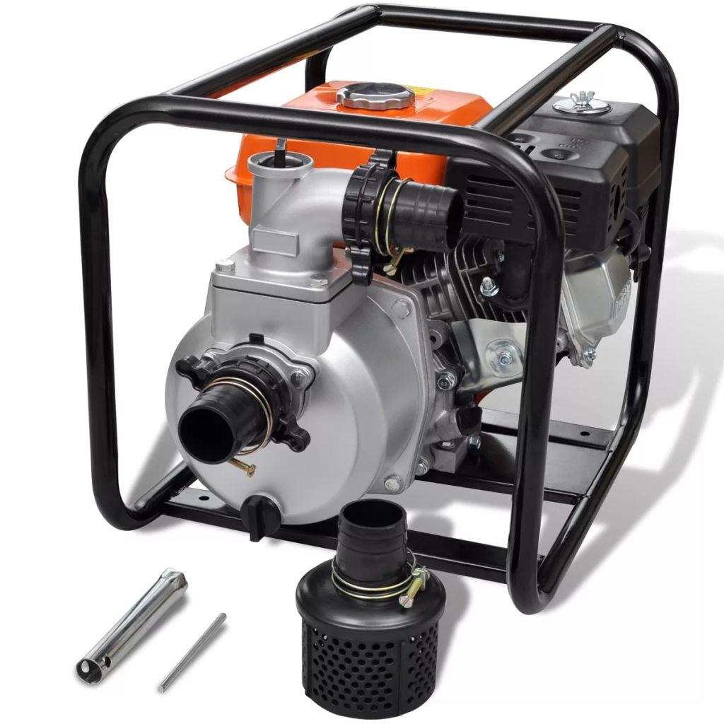 Pompe à eau moteur essence 50 mm Raccordement 5.5 CV