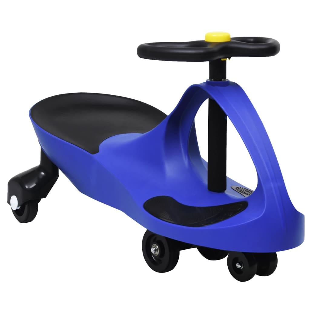 Ride a Toy Wiggle Car Swing Car Horn Blue-val