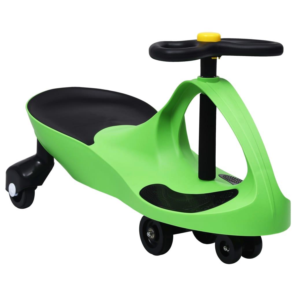 นั่งบนรถแกว่ง Toy Wiggle Car พร้อม Horn Green
