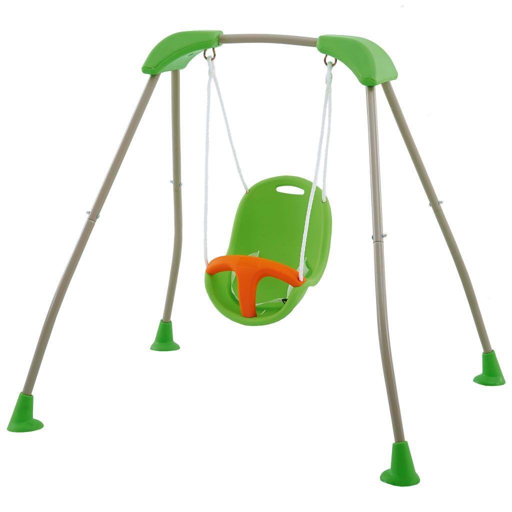 TRIGANO Ensemble de balançoire pliable drôle pour bébé Tatou 118x142x124 cm J-10180P8