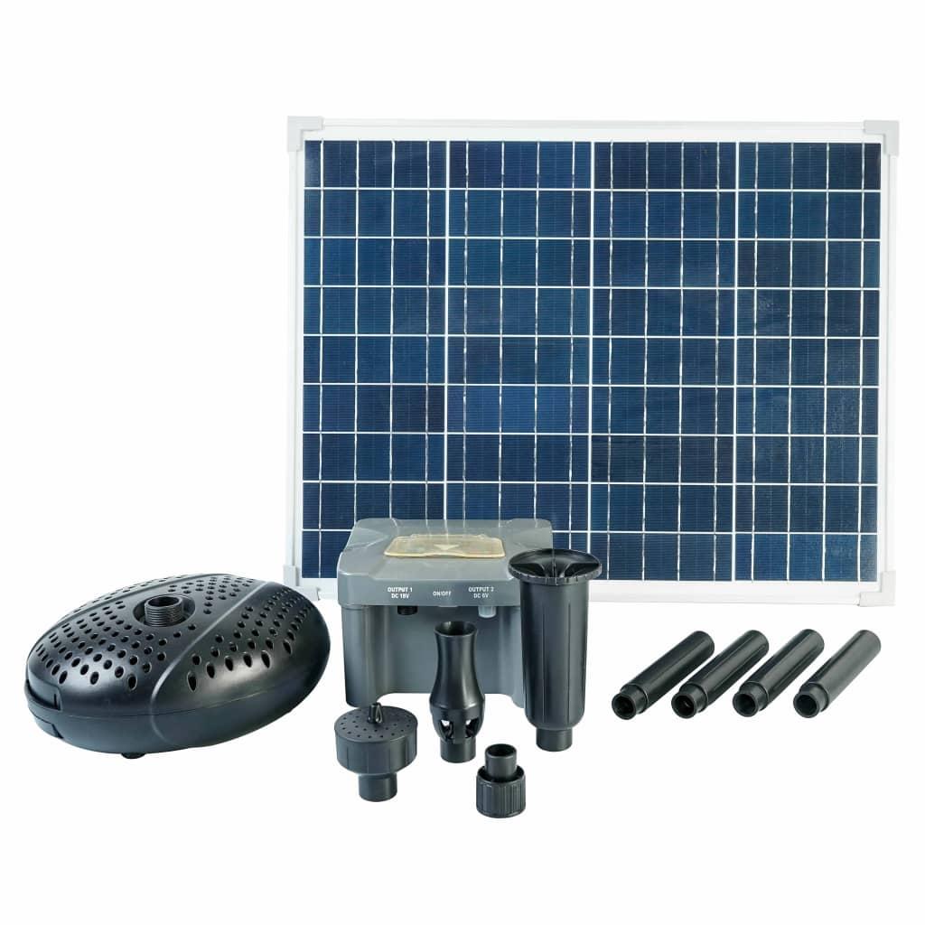 Ubbink SolarMax 2500 Set avec panneau solaire, pompe et batterie