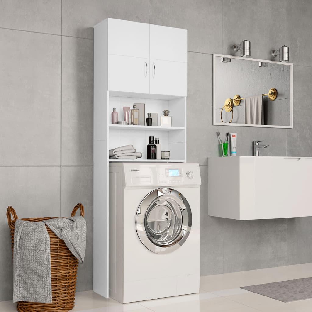 Πλυντήριο ρούχων Λευκό 64x25.5x190 cm Μοριοσανίδα