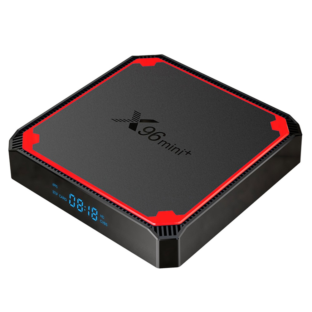 X96 MINI+ TV BOX Android 9.0 Amlogic S905W4 2GB/16GB 4K TV Box 2.4G+5G WIFI LAN