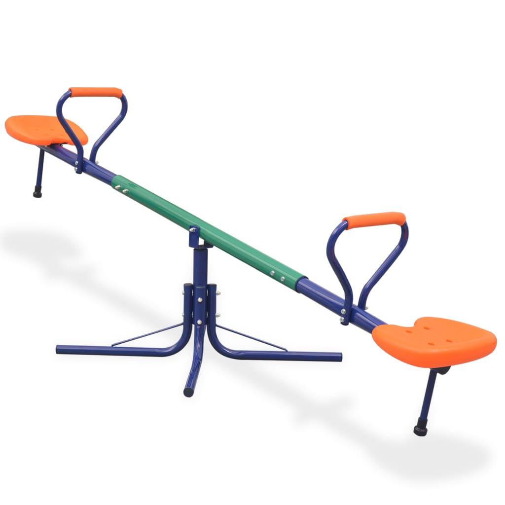 Balançoire rotative à 360 degrés orange