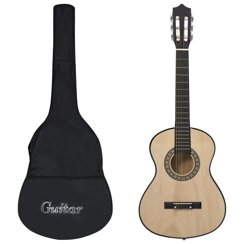 8 pièces guitare acoustique classique enfants débutant ensemble 1/2 34