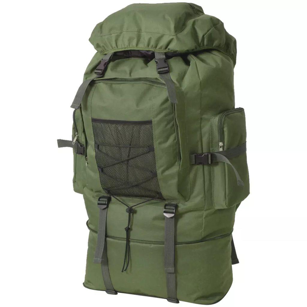 Army-Style Rucksack XXL 100 L Grün