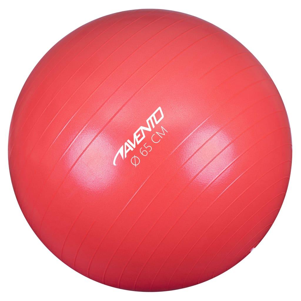 Avento Fitness / Gym Ball Dia. 65 cm ροζ