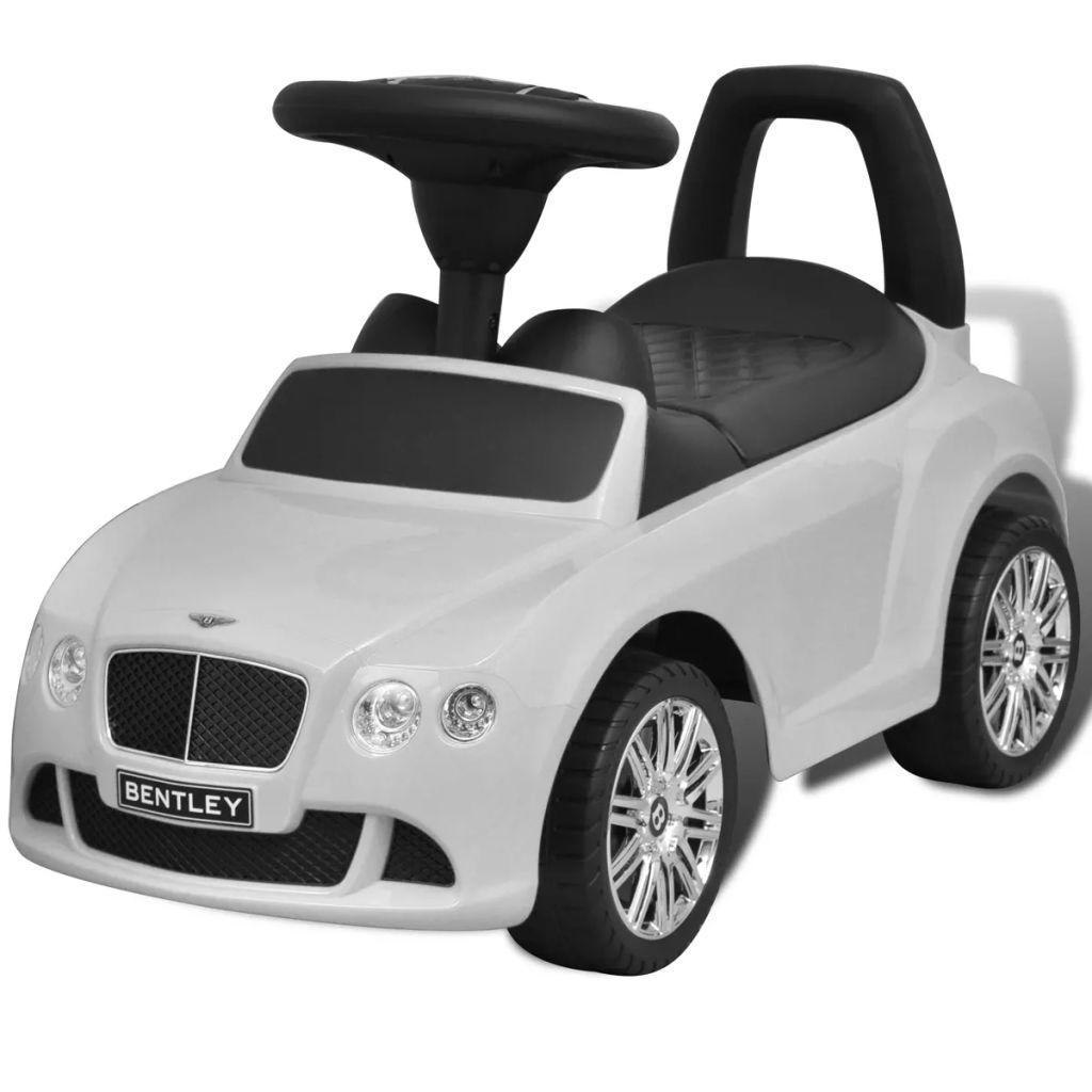 Voiture pour enfants Bentley à pédale blanche