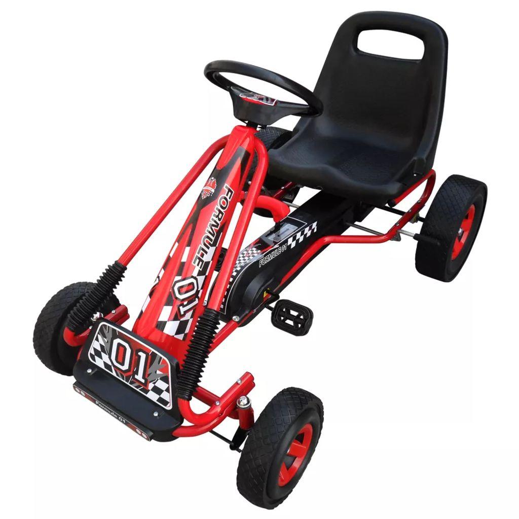 Enfants Pédale Go Kart Rouge