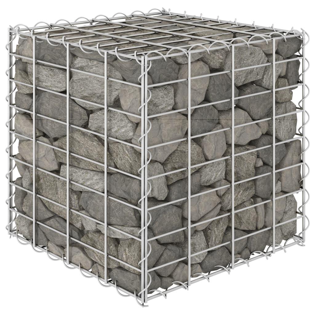 キューブ蛇籠上げ床鋼線40x40x40cm