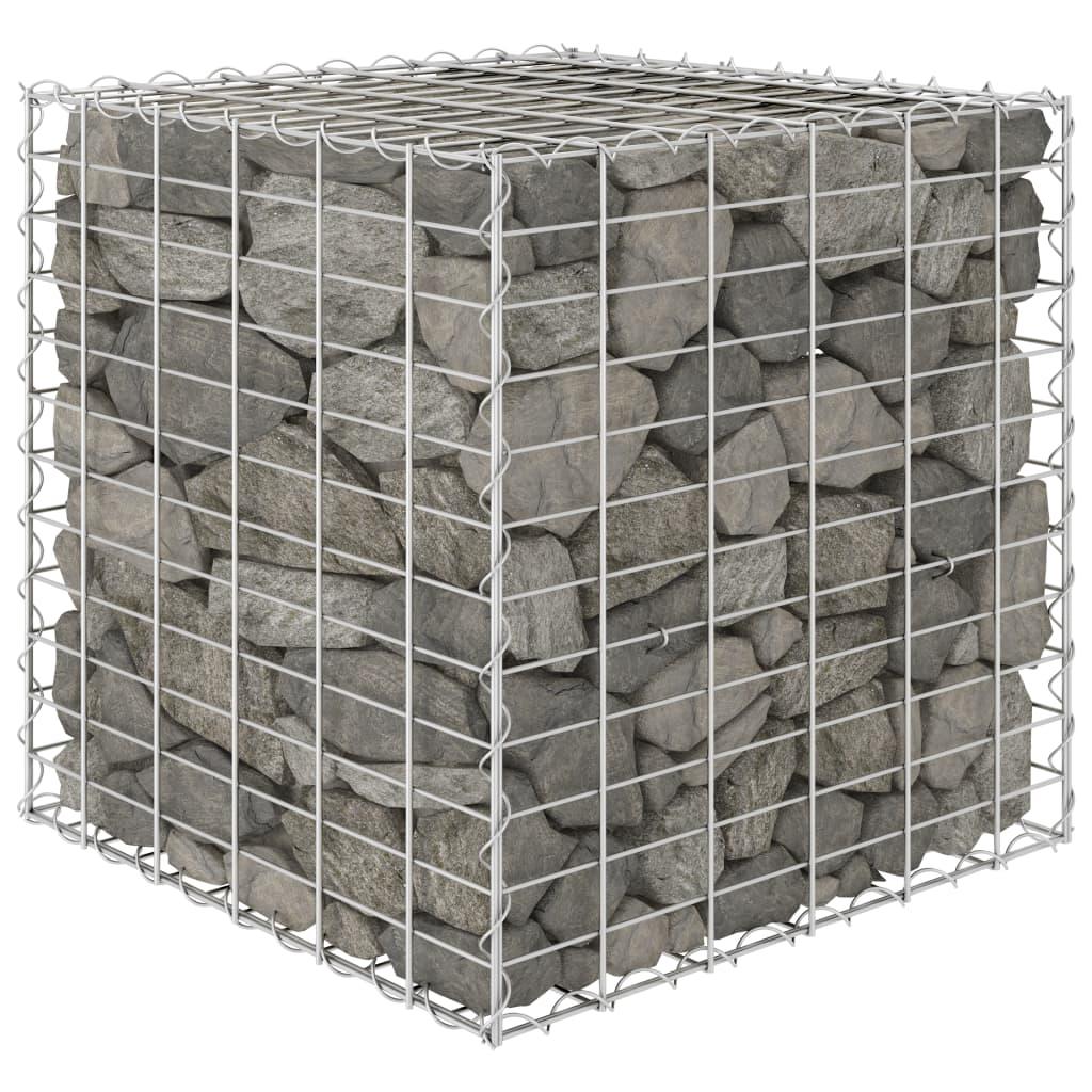 キューブ蛇籠上げ床鋼線60x60x60cm