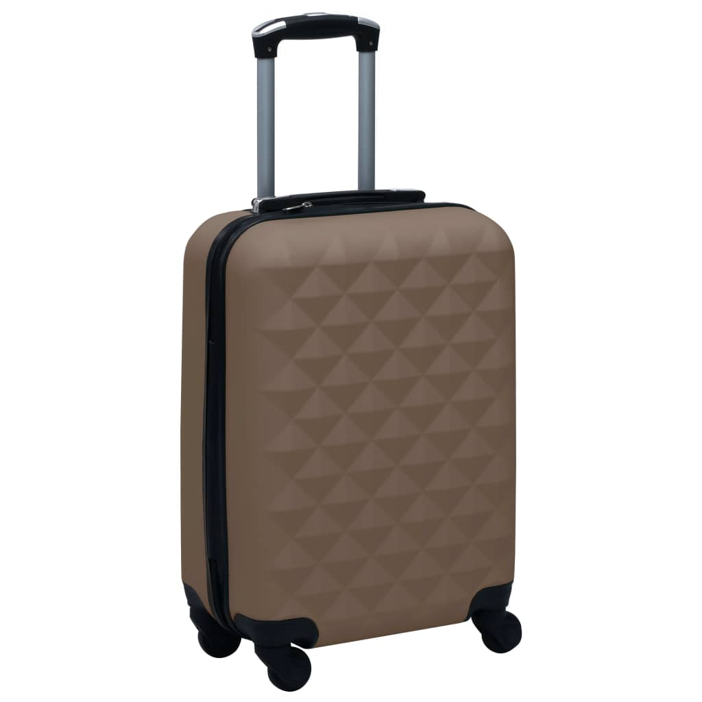Hardcase Trolley Brown ABS