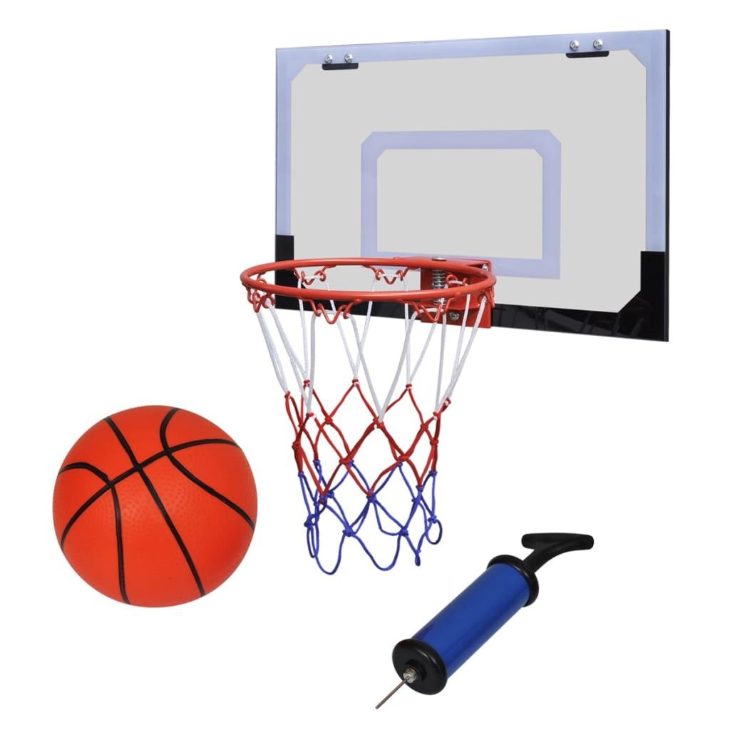 Mini cerceau de basket-ball intérieur avec ballon et pompe