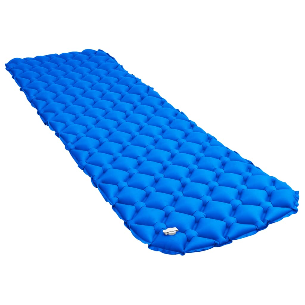 Надувной матрас 58х190 см Синий