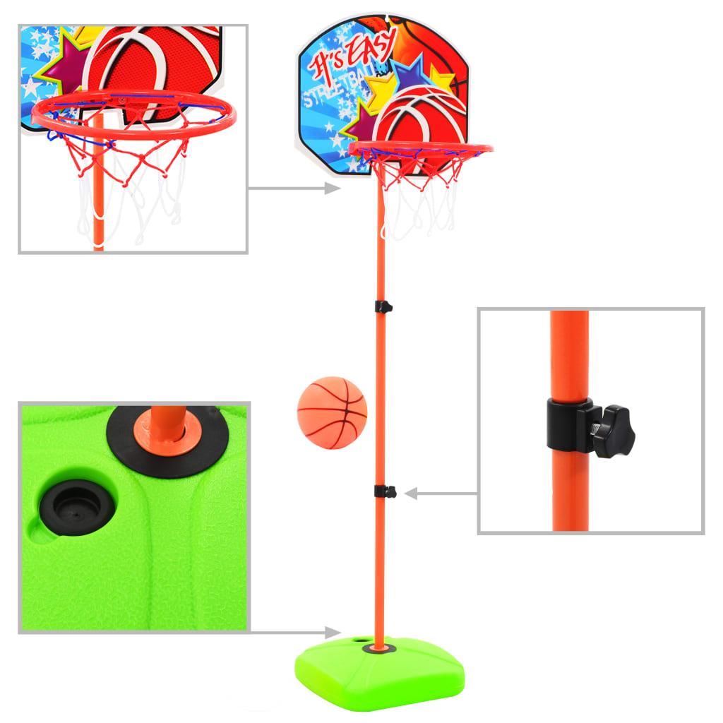 Cerceau et ballon de basket-ball pour enfants