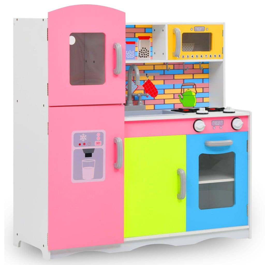 Cuisine pour enfants MDF 80x30x85 cm Multicolore