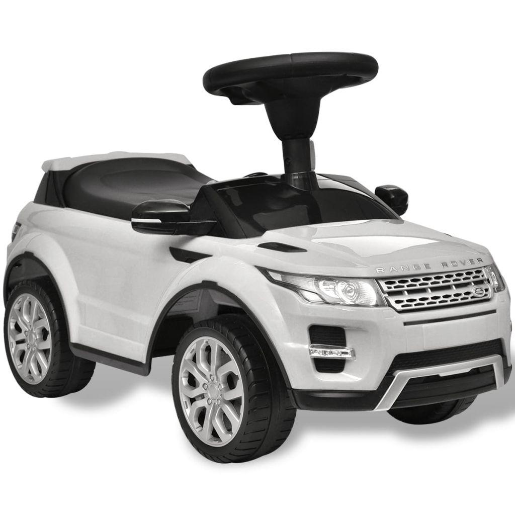 Land Rover 348 Kids Ride-on Car พร้อม Music White