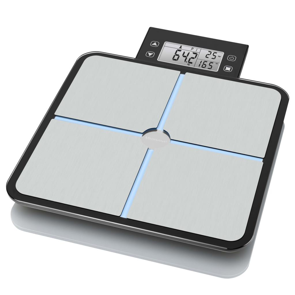 مقياس ميديسانا لتحليل الجسم BS 460 أسود وفضي