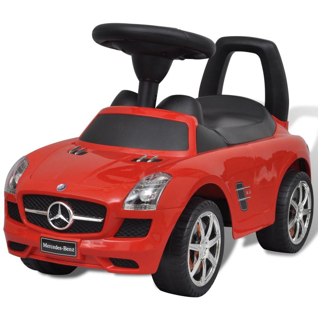 Voiture pour enfants Mercedes Benz à pédale rouge