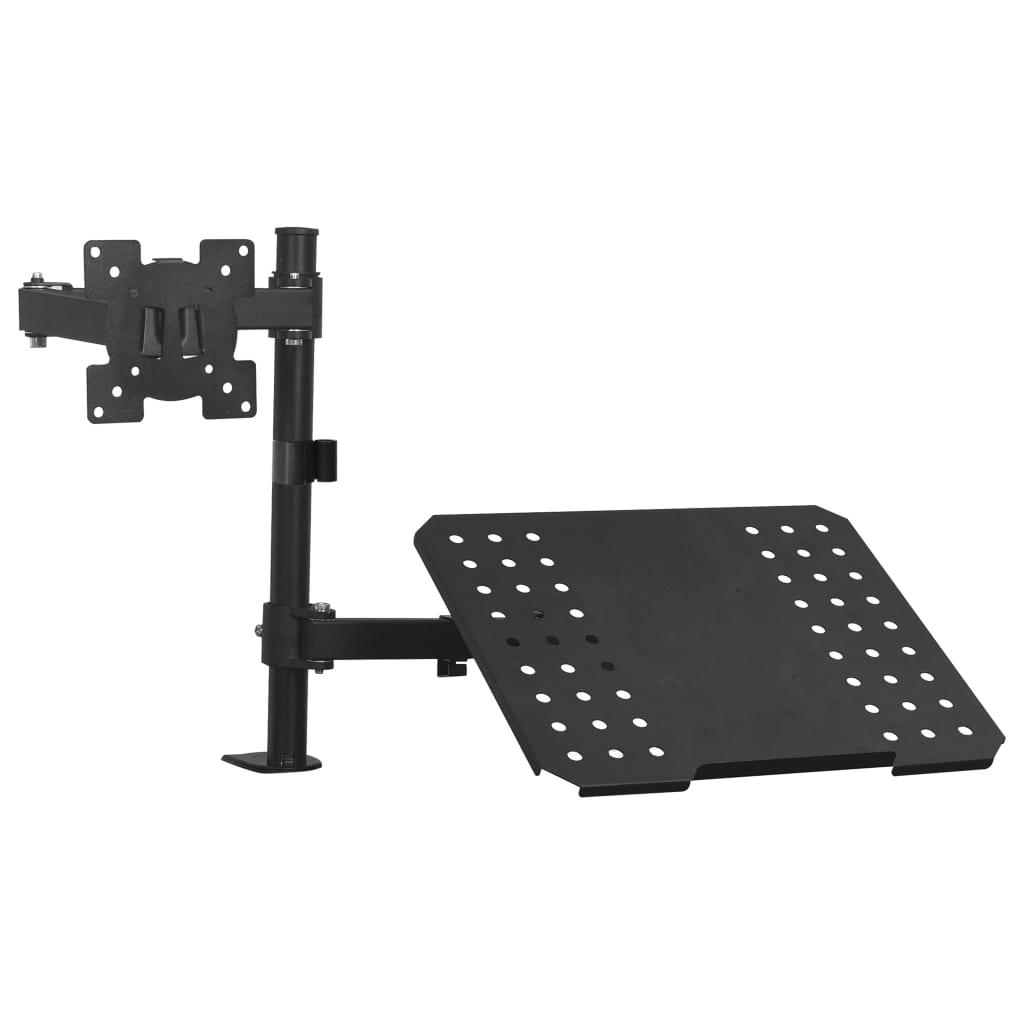 """Support de montage pour ordinateur portable pour moniteur 13 """"-23"""""""