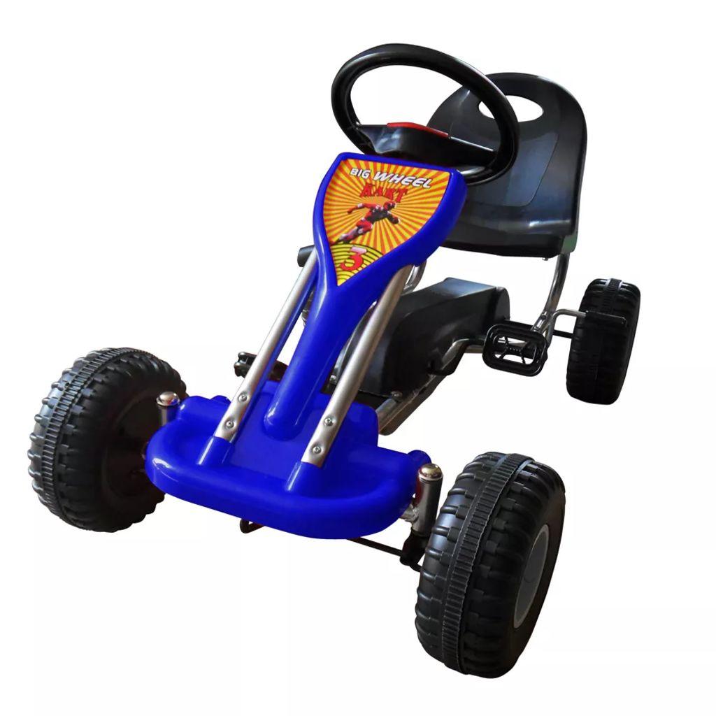 Pédale Go Kart Bleu