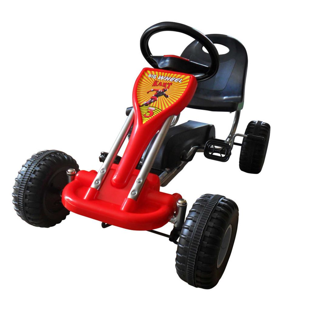 Pedál Go Kart Red