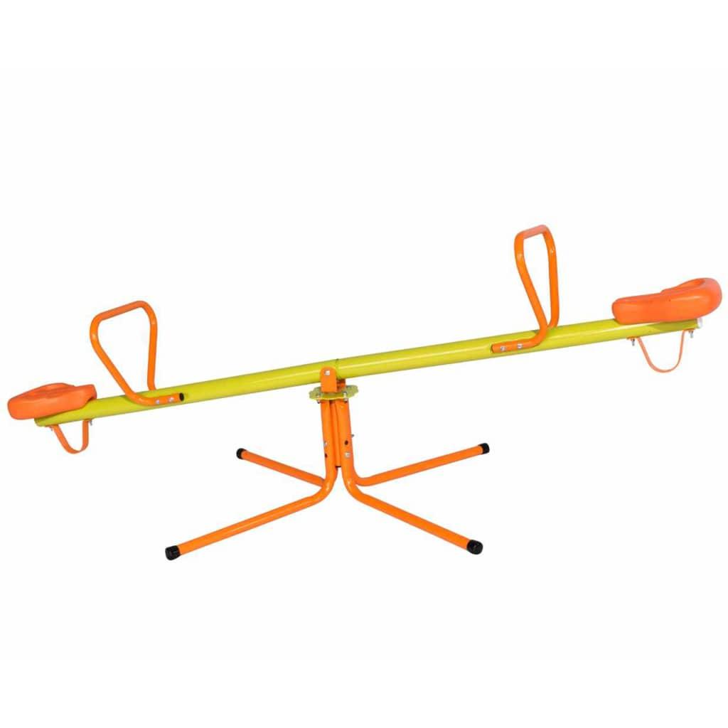 Balançoire rotative COUCOU 185x99x75 cm Acier J-41420P8