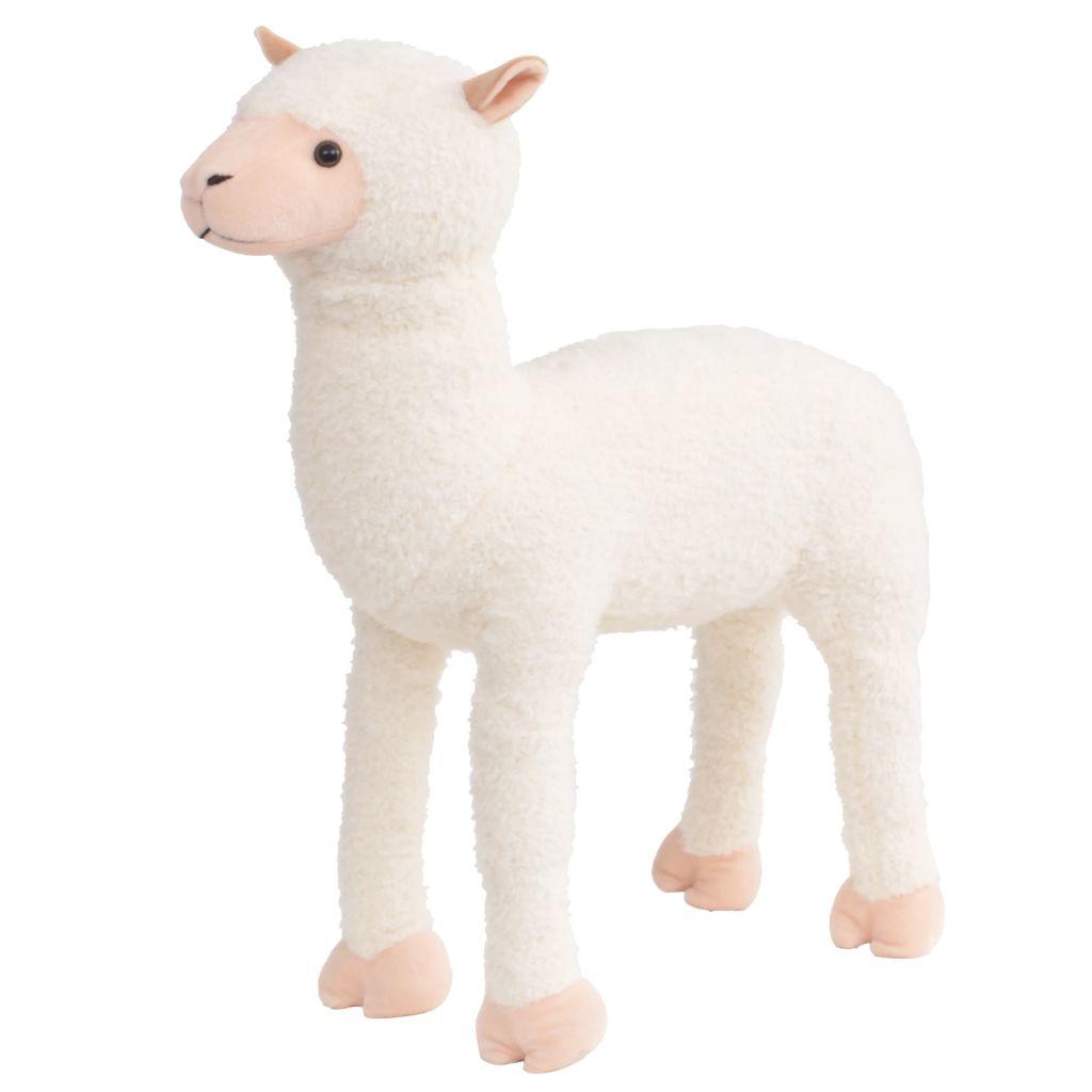 Plüss Játék Álló Alpaca White XXL