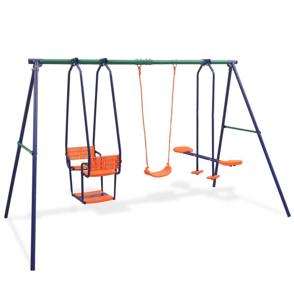 Swing szett 5 üléses narancssárgával