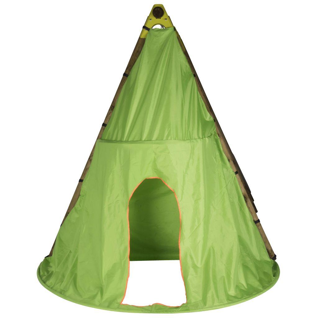 TRIGANO Play Tent Tipi pour balançoires en bois 2.3 m J-JOU058