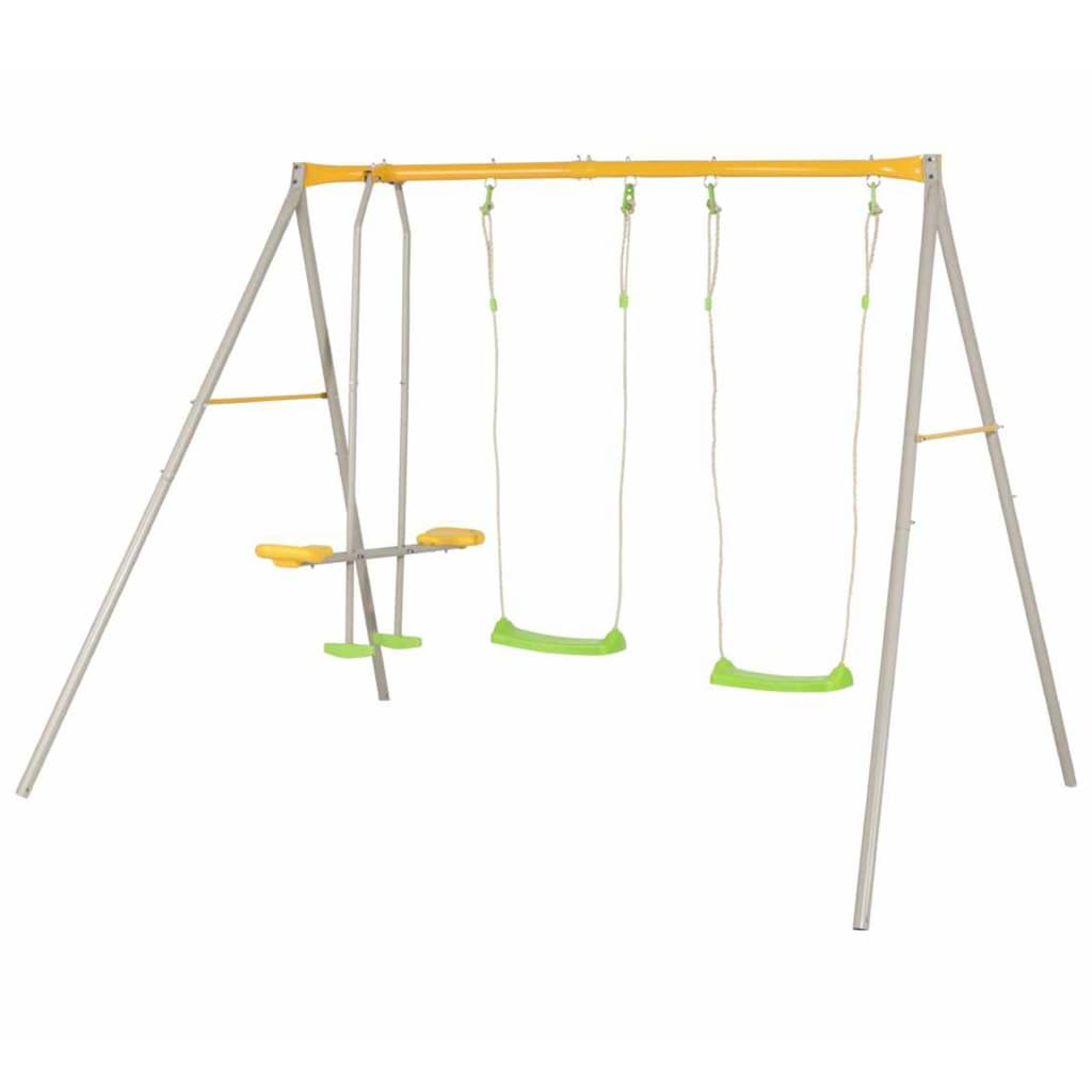TRIGANO Swing Set BRIOSO 260x190x190 cm Acier J-10456P6