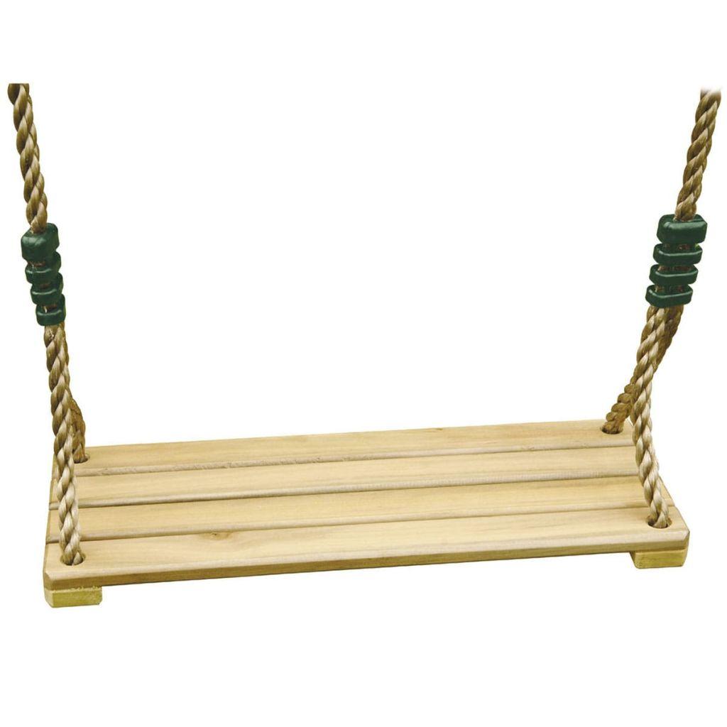 Siège de balançoire en bois TRIGANO pour ensembles 1.9-2.5 m J-478