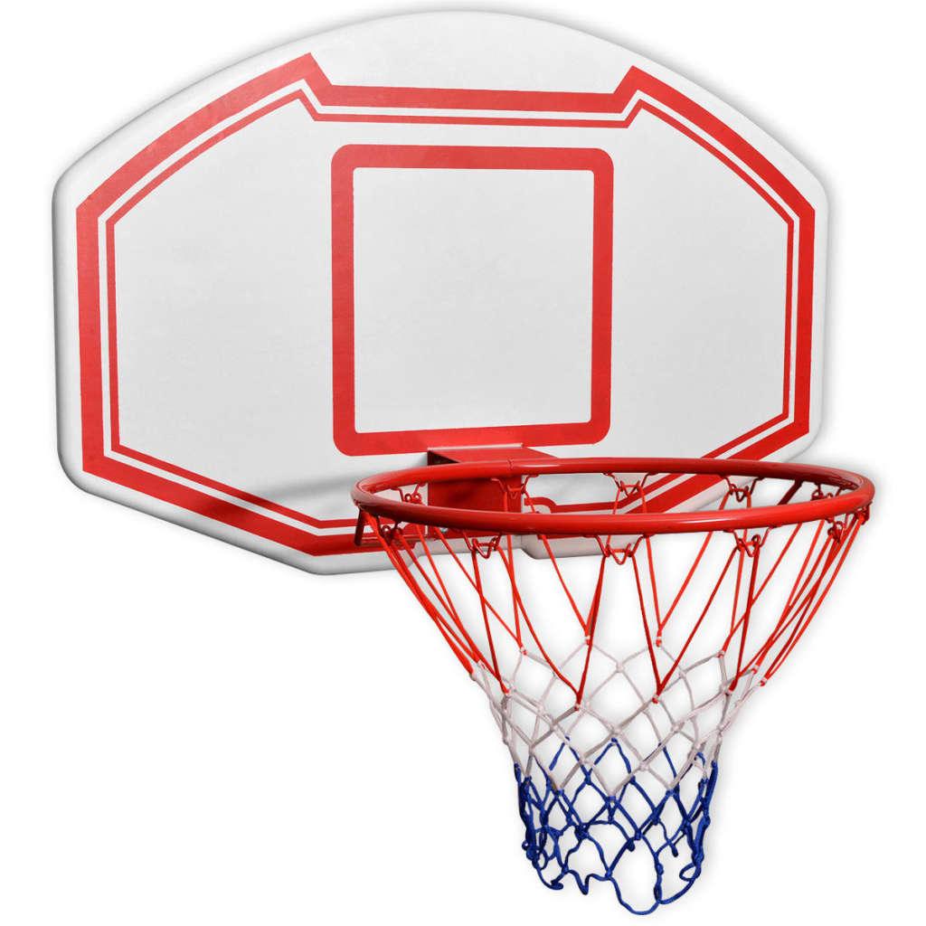 Набор настенных баскетбольных щитов из трех частей 90x60 см