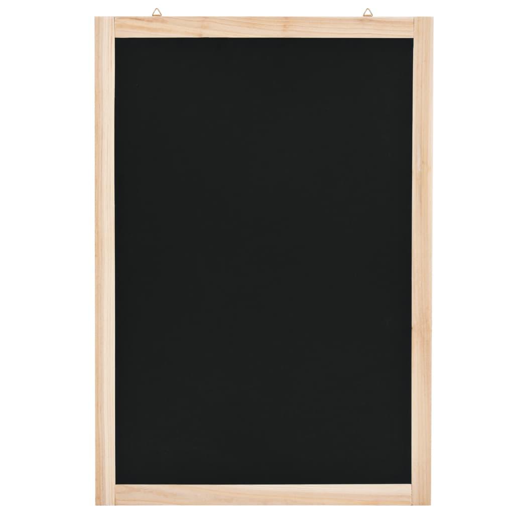 Tableau noir mural Bois de cèdre 40x60 cm
