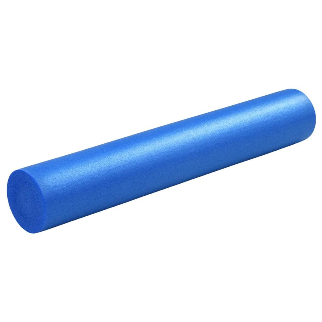 Yoga Foam Roller 15x90 cm EPE Μπλε