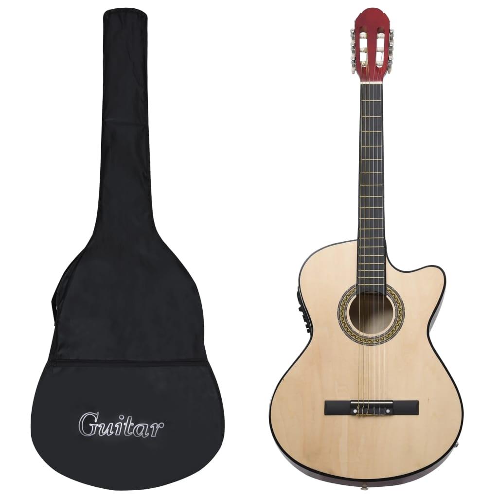 Set di 12 chitarre occidentali con equalizzatore e 6 corde