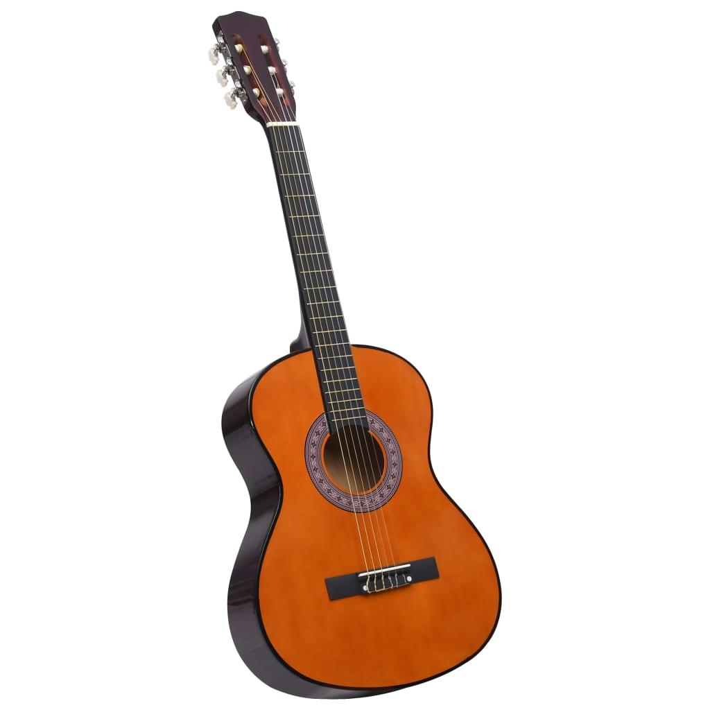 """Chitarra classica per principianti e bambini in tiglio da 3/4 36 """""""