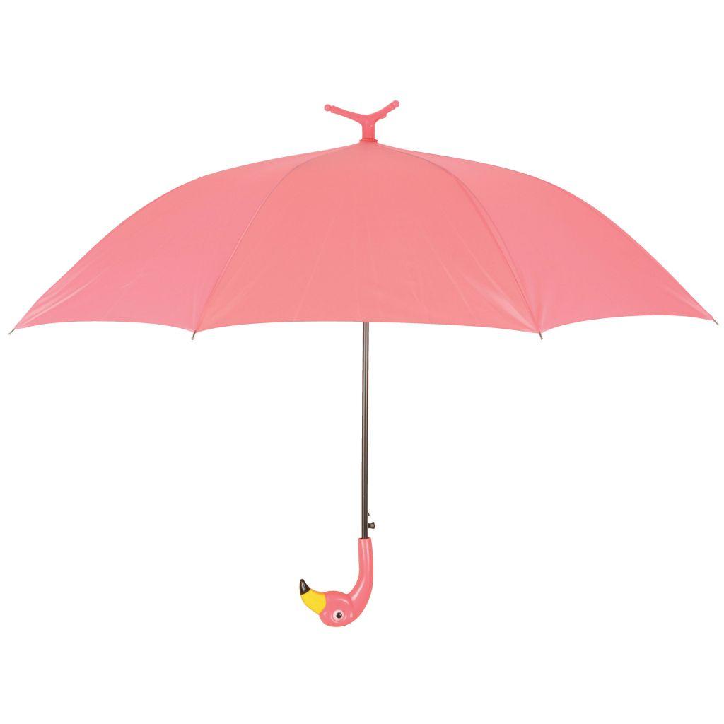 Esschert Design Ομπρέλα Flamingo 98 cm Ροζ TP194