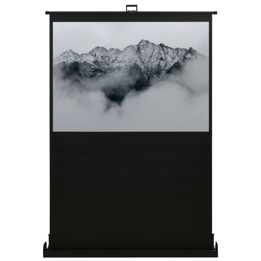 Проекционный экран, поднимающийся с пола, 55 дюймов, 16: 9