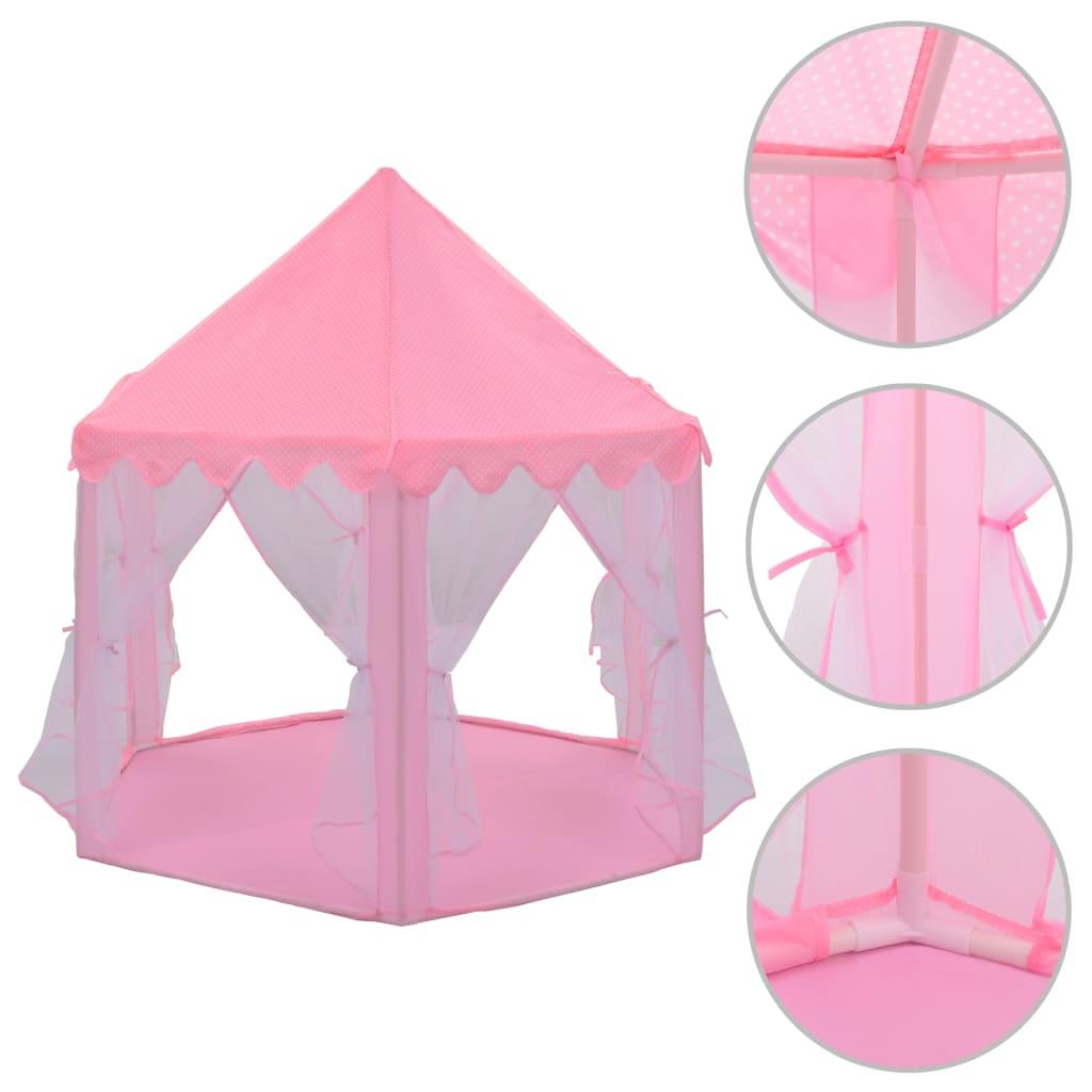 Tente de jeu princesse rose