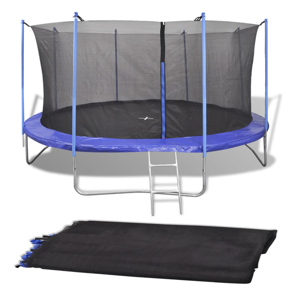 Filet de sécurité pour trampoline rond de 4.26 m