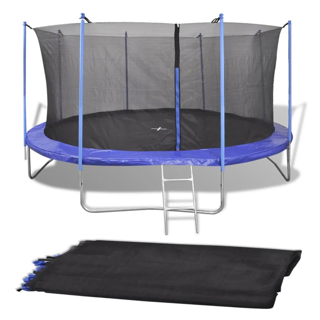 Filet de sécurité pour trampoline rond de 4.57 m