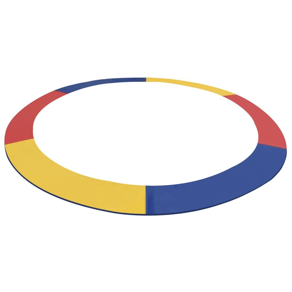 Coussin de sécurité PVC multicolore pour trampoline rond 15 pieds / 4.57 m