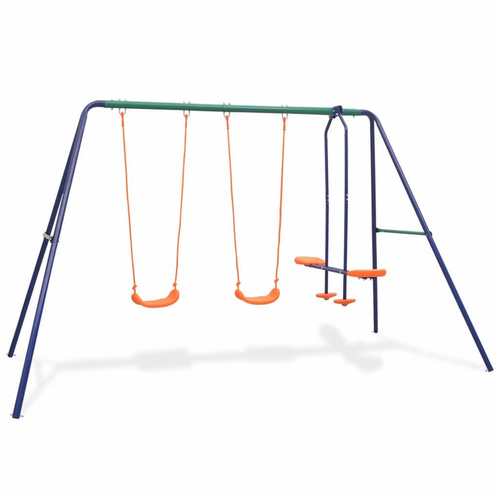 Swing szett 4 üléses narancssárgával