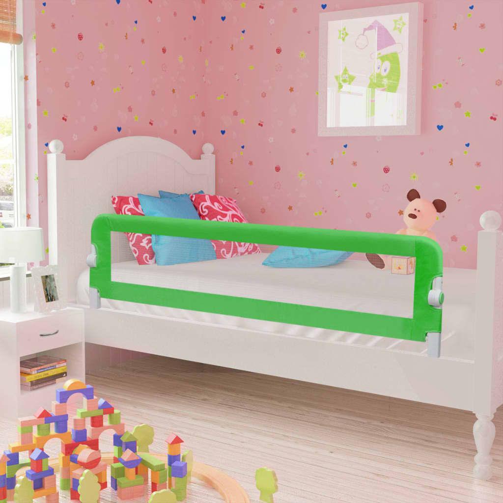 Ράγα κρεβατιών ασφαλείας για μικρά παιδιά 2 τεμάχια 150x42 cm