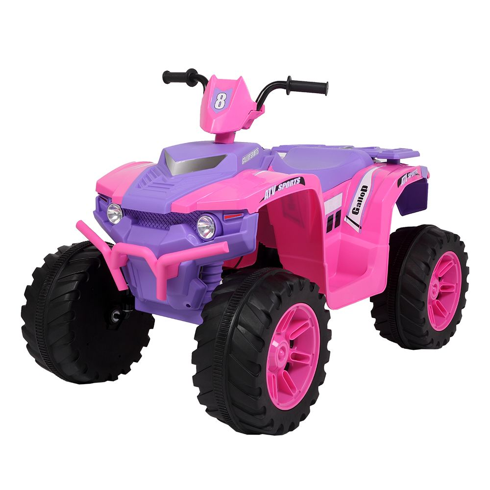 LEADZM LZ-9955 All Terrain Vehicle Dual Drive Battery 12V7AH*1 with Slow Start - Pink